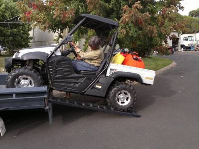 Parklander UTV - looks good, goes great in SA