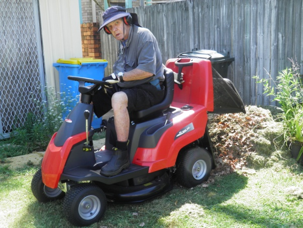 Another Happy Customer with their Castelgarden Compact Ride-On Mower